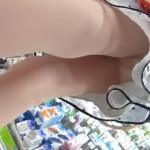 【パンチラ盗撮】文房具を買いに来た可愛い娘のスカート逆さ撮り!ストッキング越しにエロパンティ丸見え!超リアルな逆さ撮り映像「パンチラえんじぇる」さんの作品をお楽しみください。