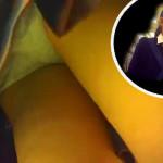 【ロリJKパンチラ】まさかの盗撮バレか!?幼い顔の童顔JK二人組みを逆さ撮りしていたら近くのオバサンにガン見で怪しまれるハプニング!肝心のパンツはバッチリ覗き見成功か。盗撮ダメ絶対!!