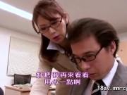 翔田千里 傲慢で高飛車な女上司を妄想の中でハメる虚しい部下