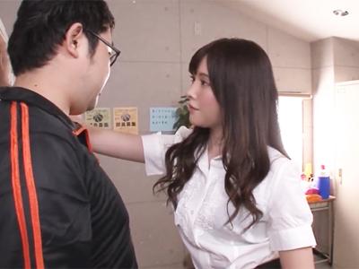 美少女すぎる女教師の素行が悪すぎるw→同僚にも跨ってパンスト素股ヌキ