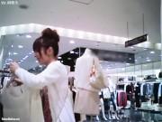 【HD盗撮動画】イイやつです!Mr.研修生!股間モッコリ美女ショップ店員のパンチラ&腹チラ!!
