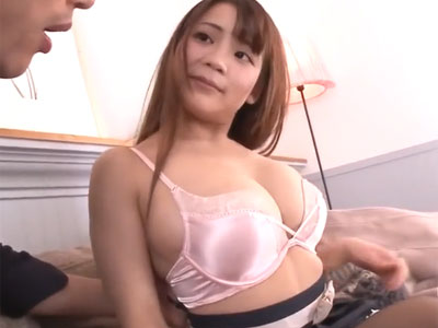 巨乳なな美少女が大好物チンポを一生懸命にご奉仕→ザーメン抜き完了