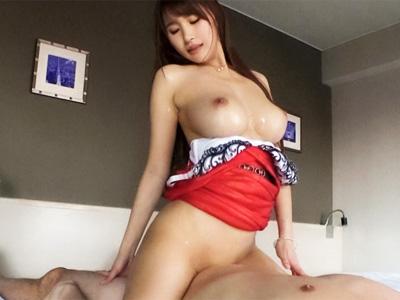 歌舞伎町でナンパしたセクシー巨乳なのデリヘル嬢とホテルでハメ撮り成功!