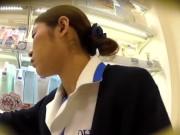 【HD盗撮動画】場所バレ逆さHERO!思いっきりDHC編!!!清純派な美女ショップ店員のお姉さまのパンチラ!!