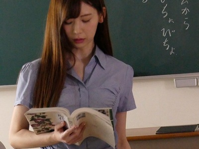 美女女教師がDQN学生たちの性奴隷に…クーラーの効かない教室で汗だくパコ