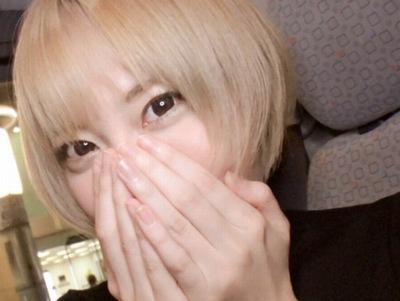 夜の街渋谷でトンデモ素人GALゲット!金髪Fカップのスーパービッチが自宅で濃厚フェラ
