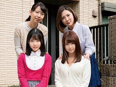 激ヤバ…今らからこの一家全員がレ〇プされる…まだJDの娘やお母さんも関係なしに非さんな現場に